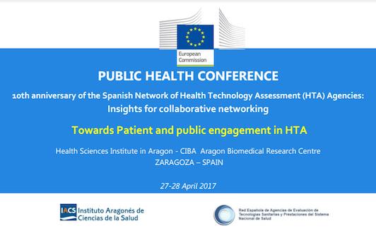 10º Aniversario de la Red Española de Agencias de Evaluación de Tecnologías de la Salud (HTA): Perspectivas para la creación de redes colaborativas